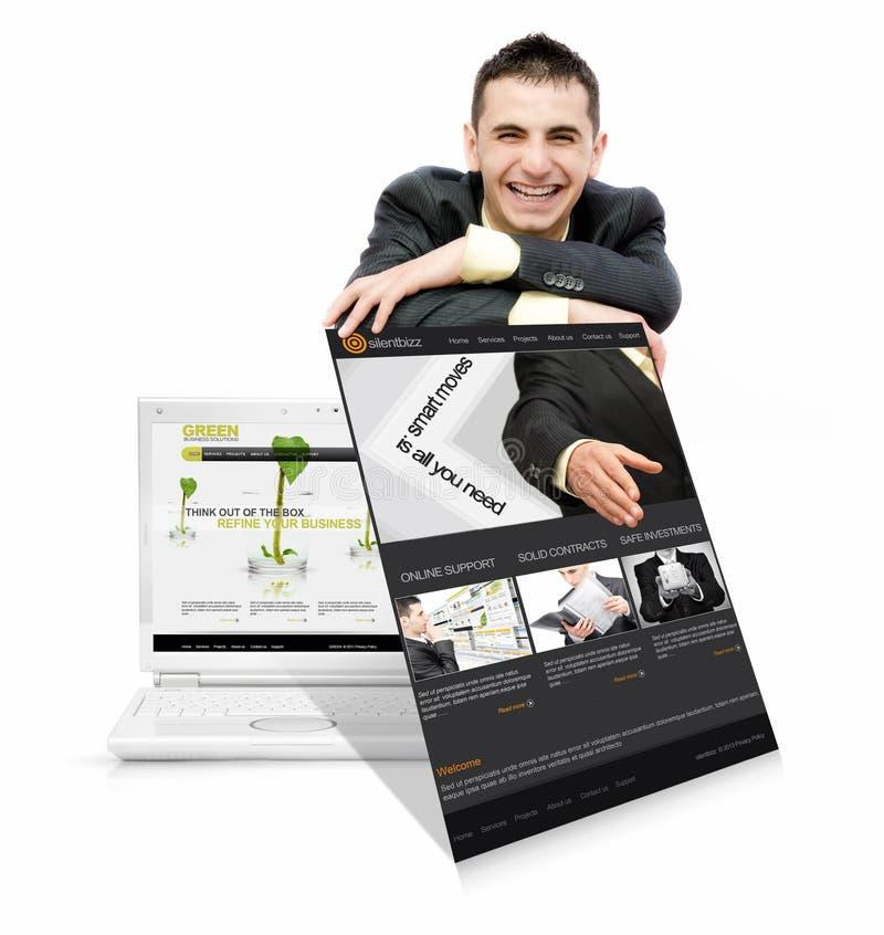 Online usługa obrazy stock