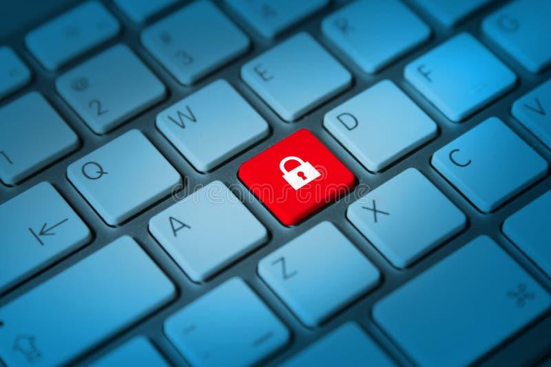 Online veiligheidsconcept royalty-vrije stock foto
