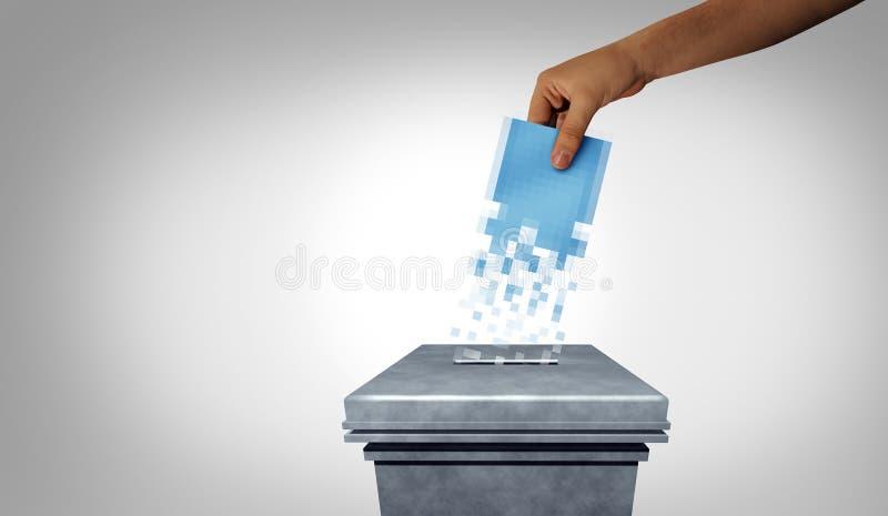 Online Voting stock photos