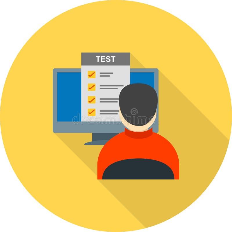 Online Vragen vector illustratie