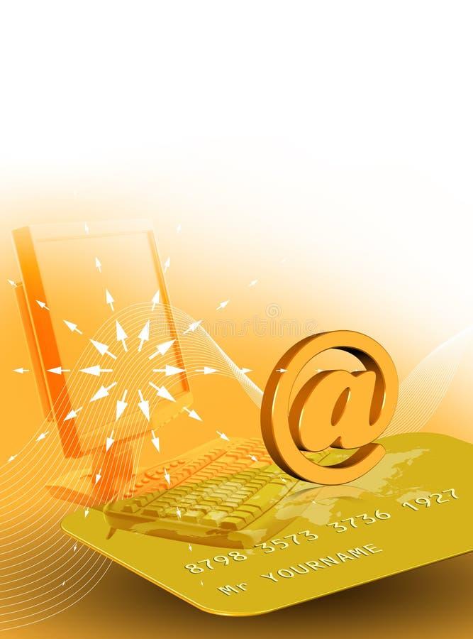 Online zaken royalty-vrije illustratie