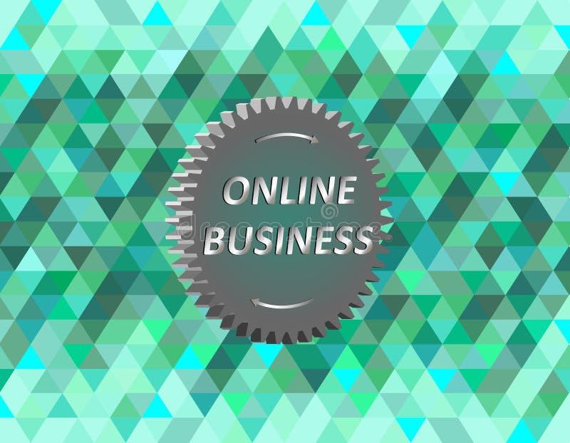 Online zaken stock afbeeldingen