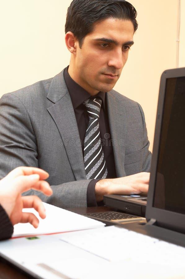 Online zaken stock afbeelding