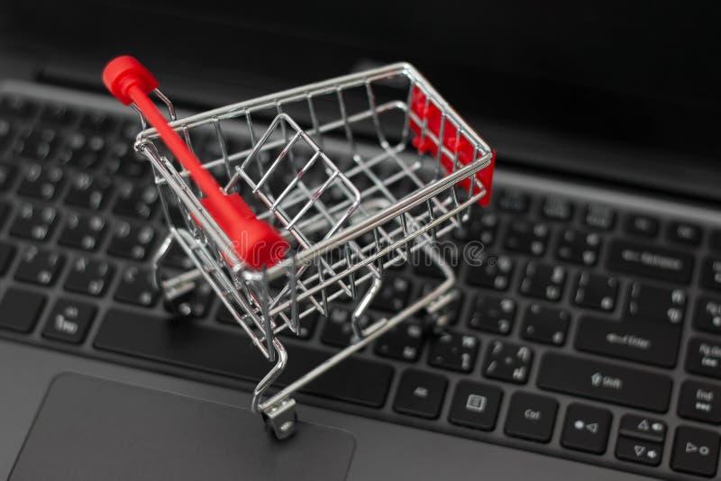 Online zakupy pojęcie zdjęcia stock