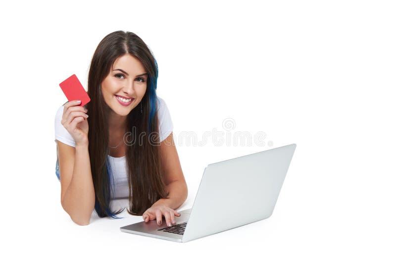 Online zakupy pojęcie obrazy stock