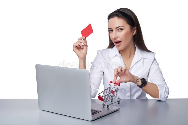 Online zakupy pojęcie obraz stock