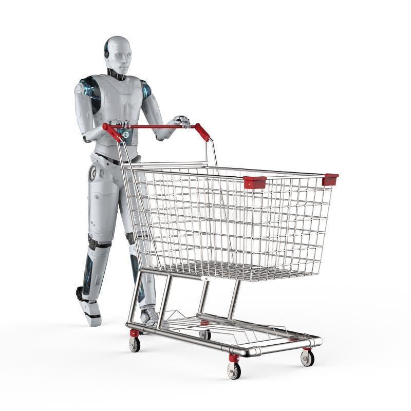 Online zakupy poj?cie royalty ilustracja