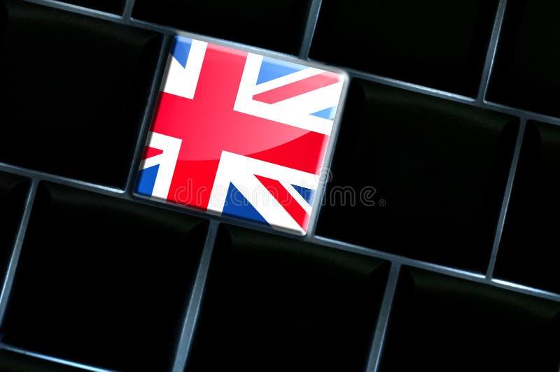 Online Zjednoczone Królestwo pojęcie obraz royalty free
