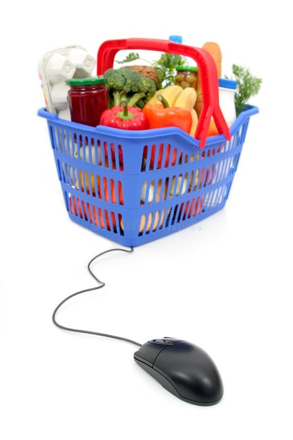 Onlineeinkaufen lizenzfreie stockfotos