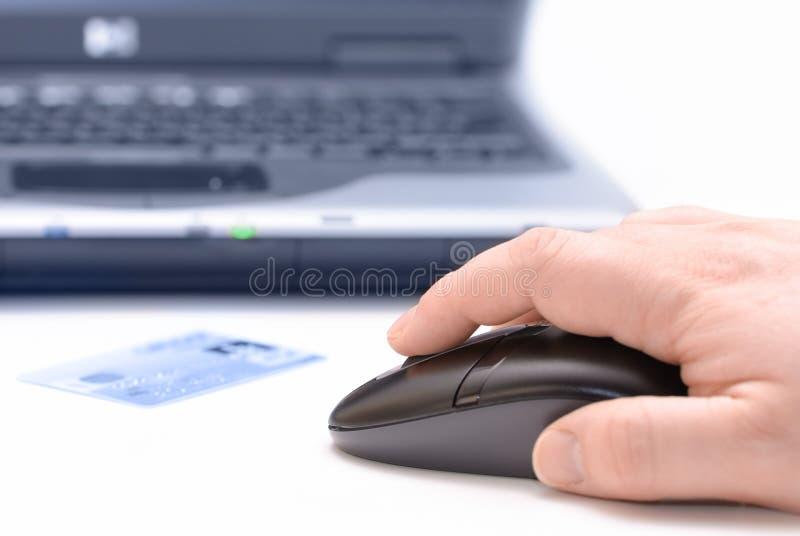Onlineverkäufe lizenzfreies stockfoto