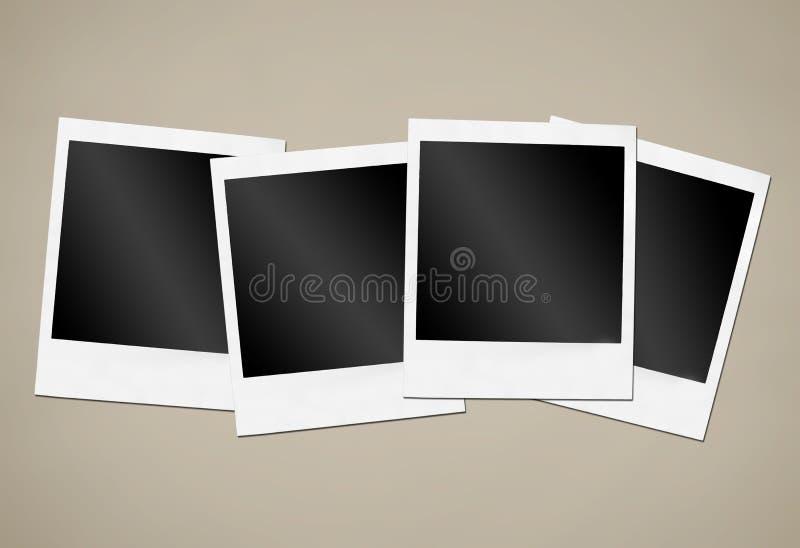 Onmiddellijke cameraframes royalty-vrije stock fotografie
