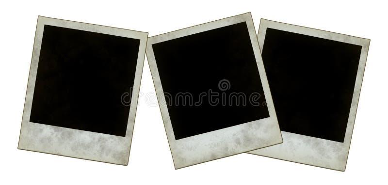 Onmiddellijke fotoframes stock foto's