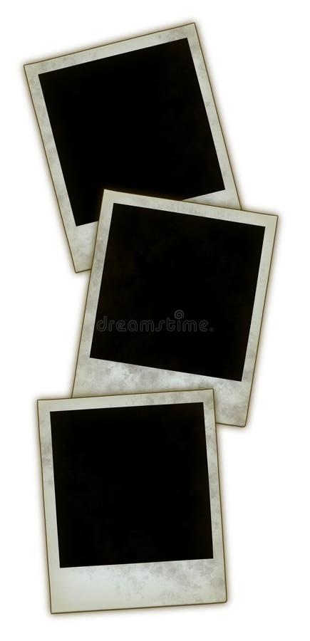 Onmiddellijke fotoframes stock afbeelding