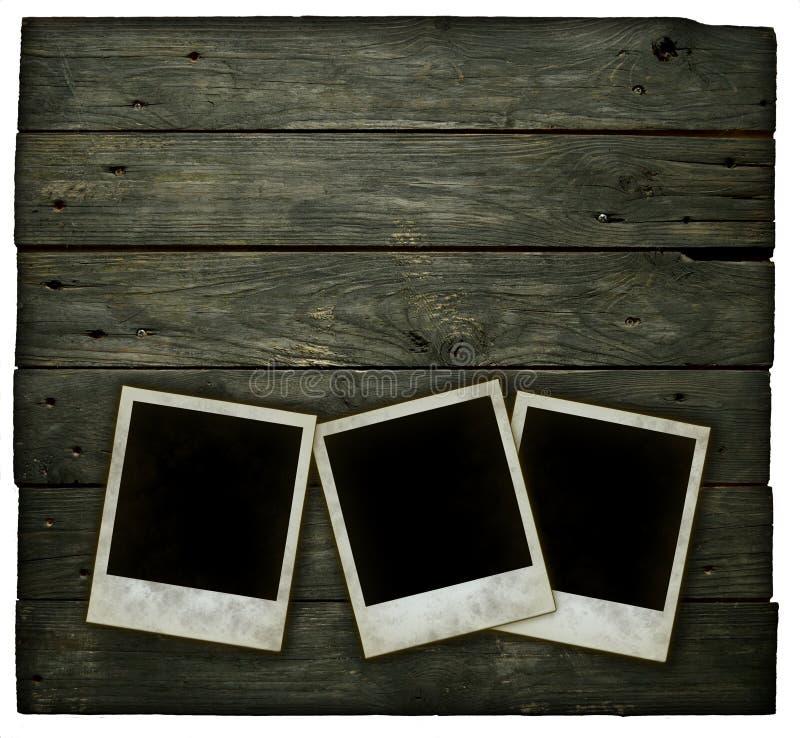Onmiddellijke fotoframes stock foto