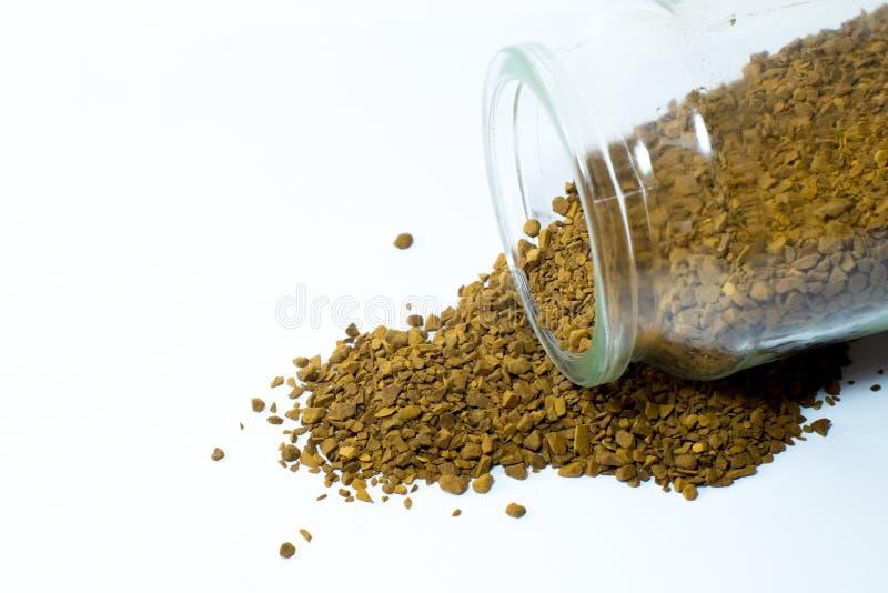 Onmiddellijke koffie royalty-vrije stock fotografie