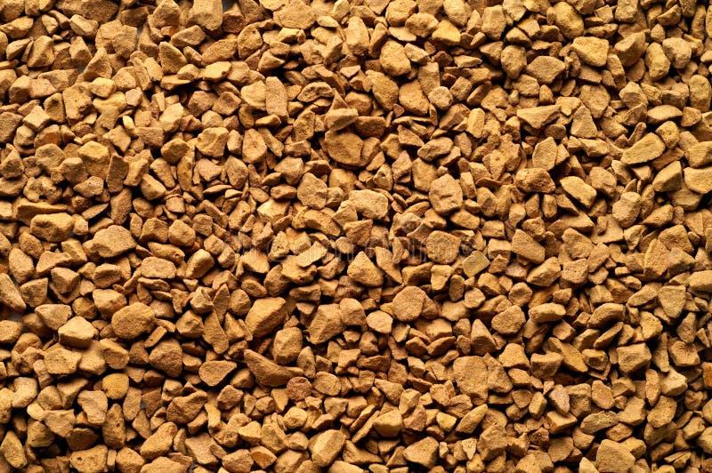 Onmiddellijke koffiepoeder stock fotografie