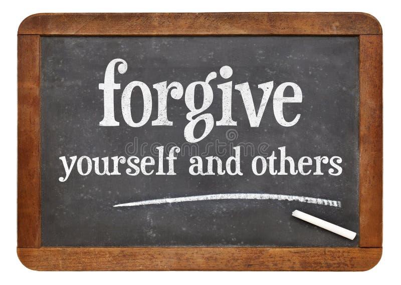 Ono wybacza i inny obrazy stock