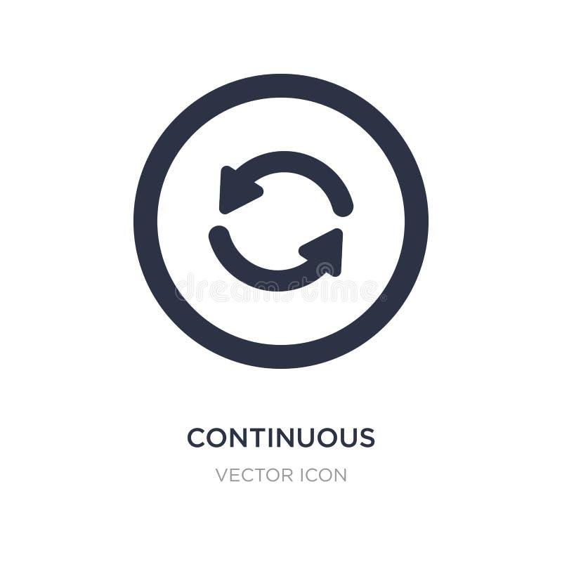 ononderbroken pictogram op witte achtergrond Eenvoudige elementenillustratie van UI-concept vector illustratie