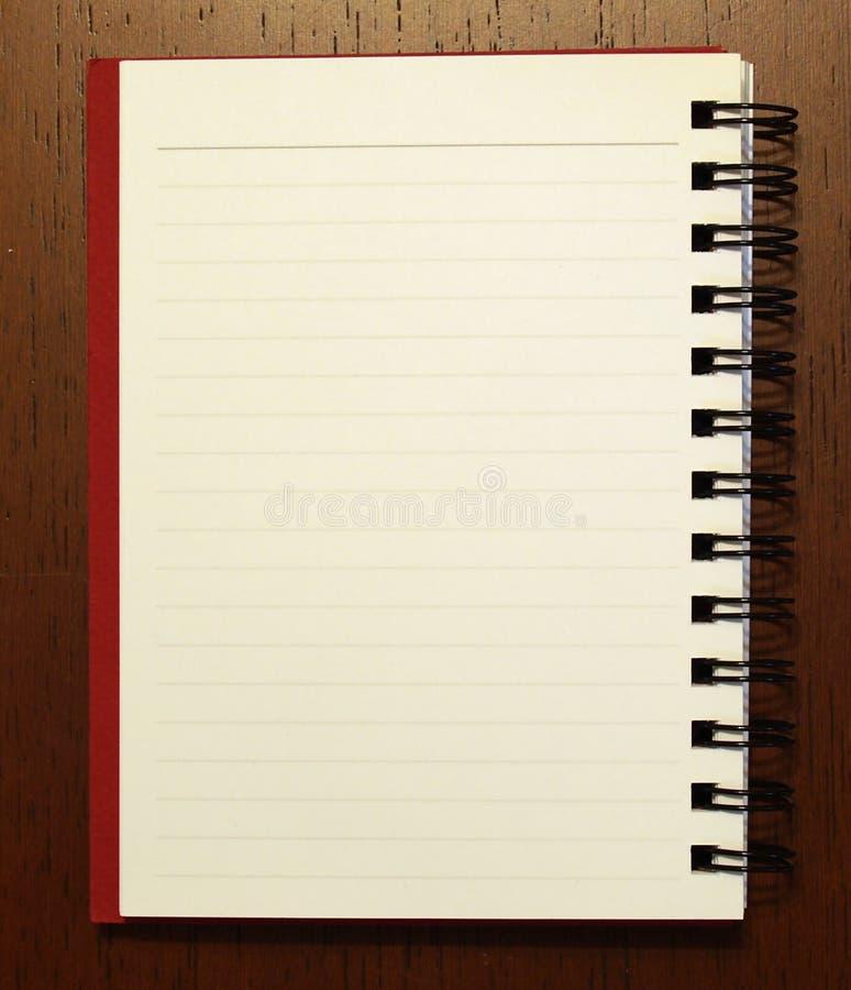 Onotebook met pen1 royalty-vrije stock fotografie