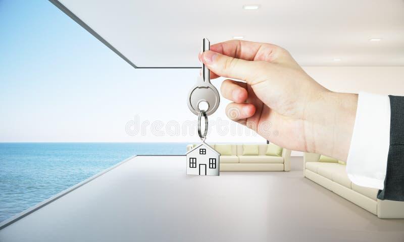 Onroerende goederen en hypotheekconcept stock illustratie