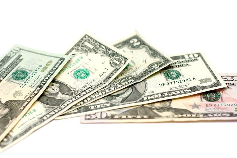 Ons dollars royalty-vrije stock afbeeldingen