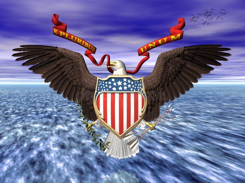 Download Ons Grote Seall, Trots En Vrijheid. Stock Illustratie - Illustratie bestaande uit concept, verbinding: 298028
