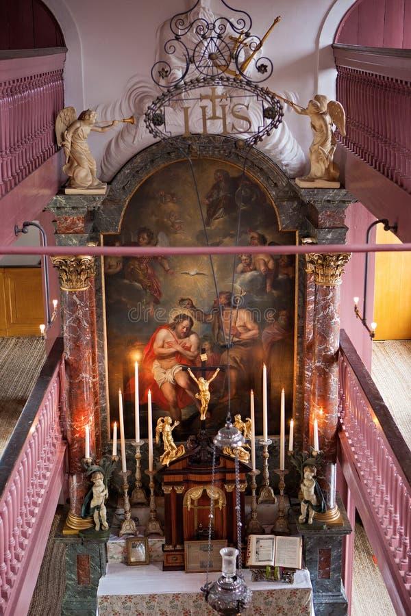 Ons OPlötmittel-Kirche Lieve Heers lizenzfreie stockfotografie