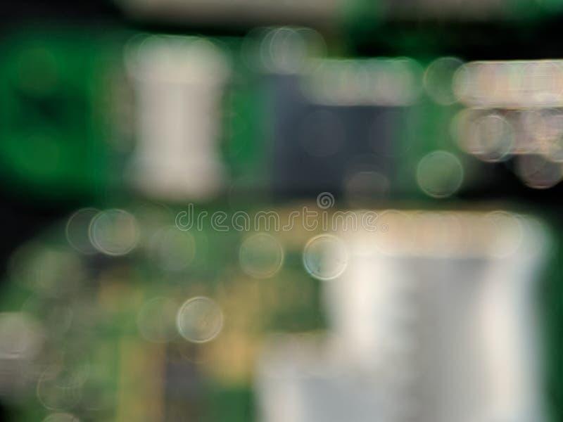 Onscherpe bokehachtergrond voor achtergrond of behang stock fotografie