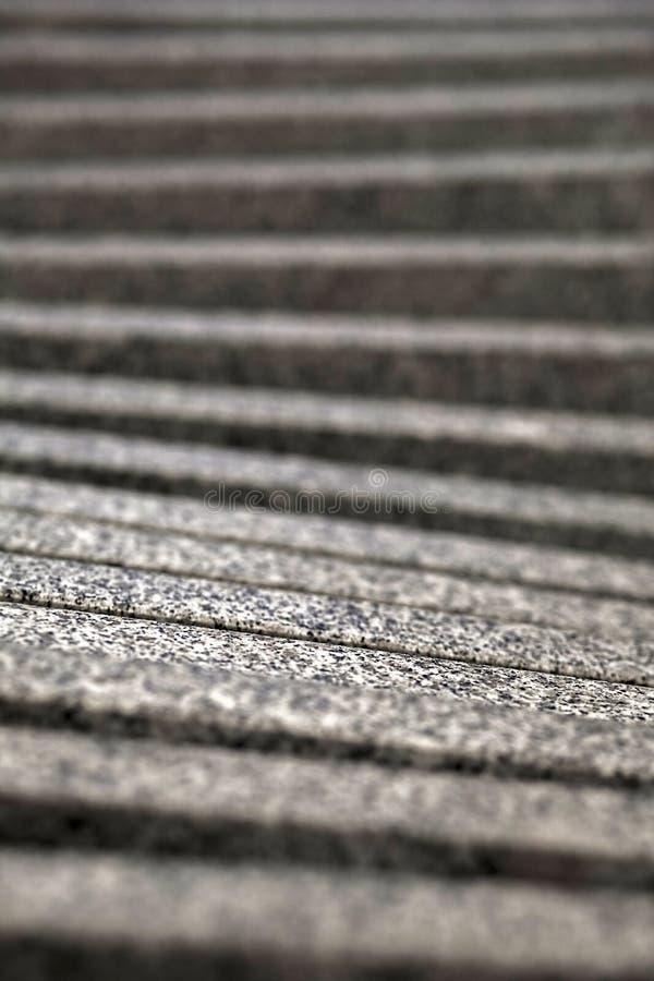 Onscherpe grijze stijgende stappen stock afbeelding