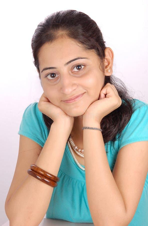 Onschuldig meisjesportret stock fotografie