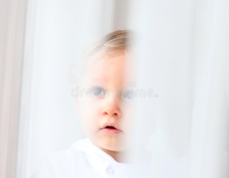 Onschuldige baby stock afbeelding
