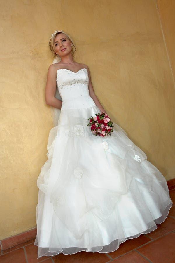 Onsdagklänning royaltyfri fotografi