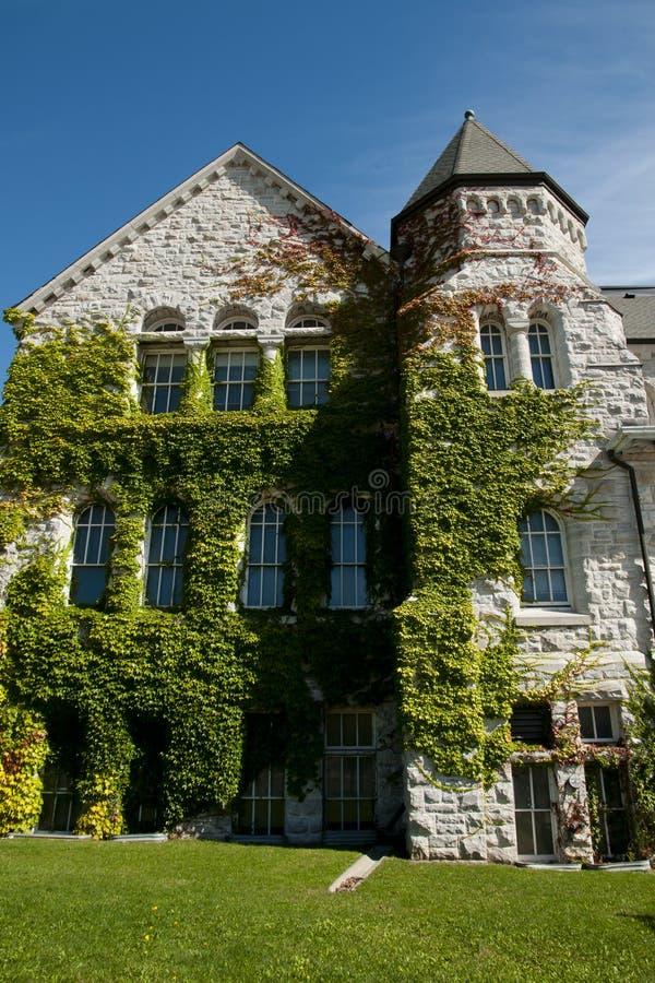 Ontario Hall Building à l'université du ` s de reine - Kingston - Canada photographie stock libre de droits