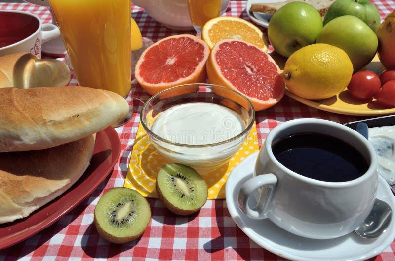Ontbijt royalty-vrije stock afbeelding