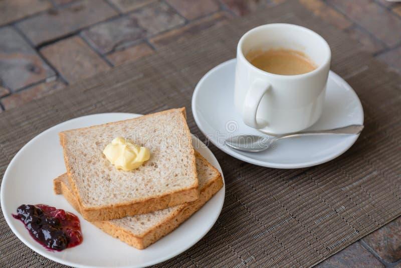 Ontbijt met Toost stock foto's