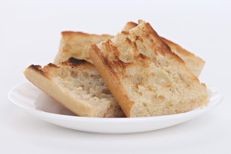 Ontbijt met Toost royalty-vrije stock foto's