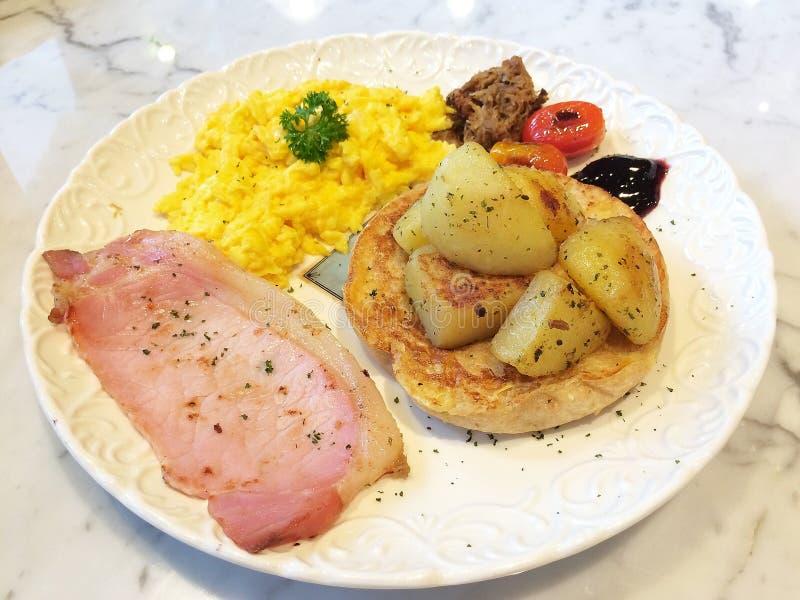 Ontbijt van de Deliciuos het Engelse landbouwer royalty-vrije stock foto