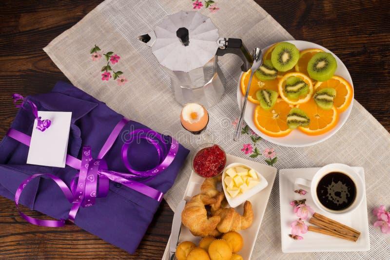 Ontbijt van viering stock foto's