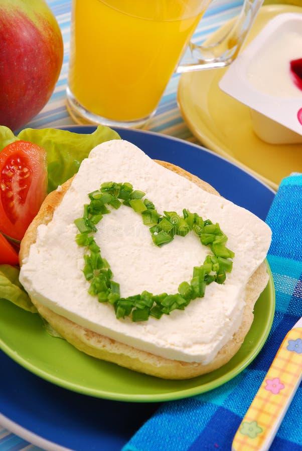 Ontbijt voor kind royalty-vrije stock foto's