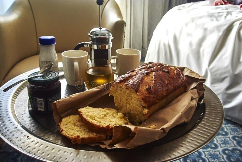 Ontbijt in Zuid-Afrika stock foto