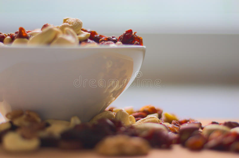 Ontbijtsnack stock foto
