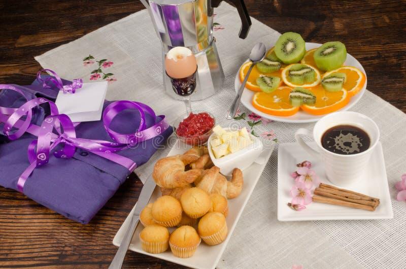 Ontbijtstilleven royalty-vrije stock foto's