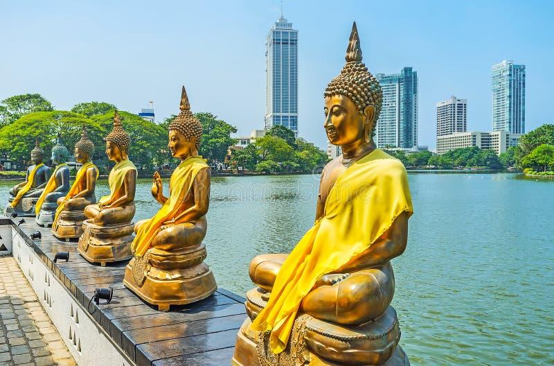 Ontdek oriëntatiepunten van Colombo royalty-vrije stock fotografie