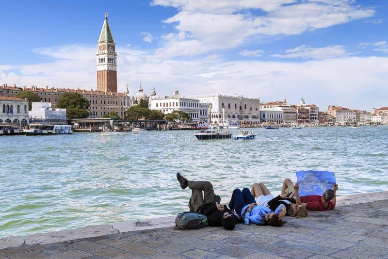 Ontdek Venetië, Italië royalty-vrije stock afbeeldingen
