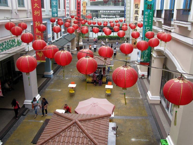 Onthaal aan Chinatown, Binondo, Manilla royalty-vrije stock afbeeldingen
