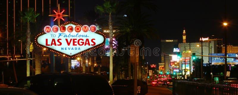 Onthaal aan de Strook van Las Vegas royalty-vrije stock afbeelding