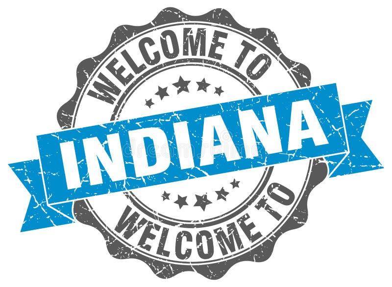 Onthaal aan de verbinding van Indiana vector illustratie