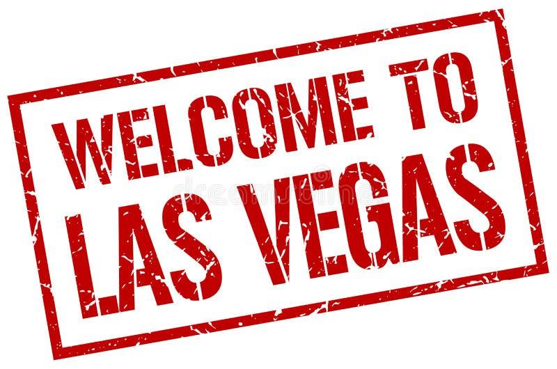 onthaal aan de zegel van Las Vegas royalty-vrije illustratie