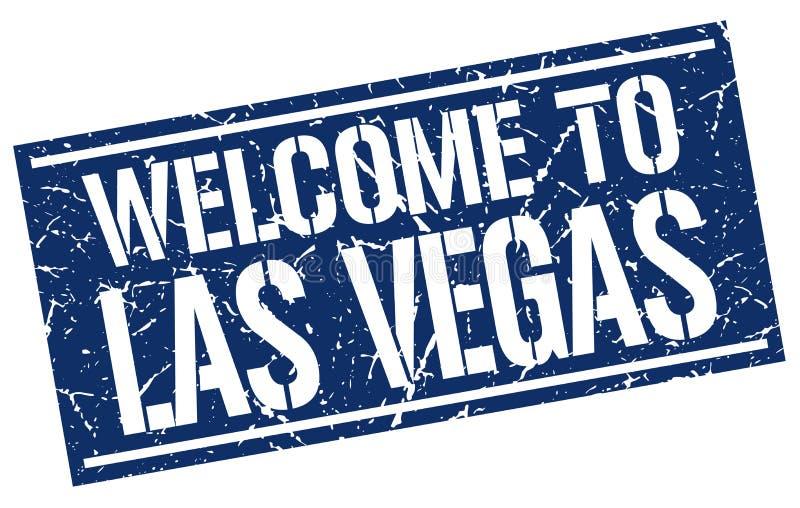 onthaal aan de zegel van Las Vegas vector illustratie