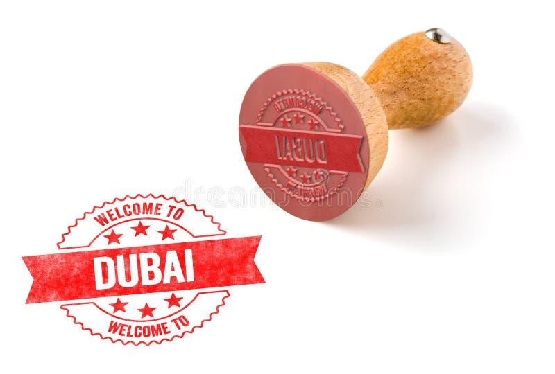 Onthaal aan Doubai stock fotografie